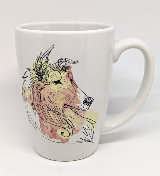 Rough Collie Dog Breed Mug