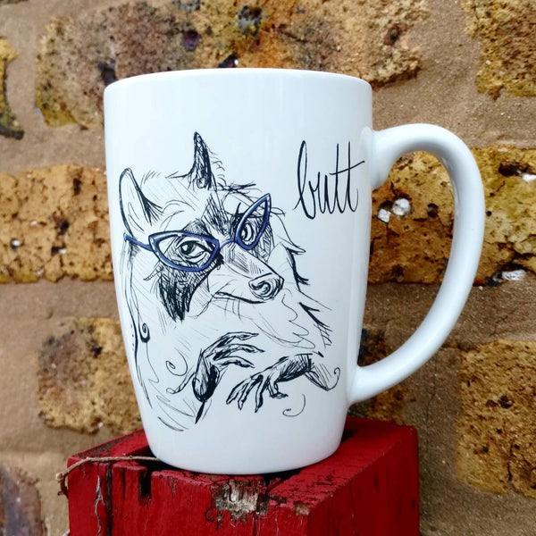 Dirty Dishes Raccoon Coffee Mug