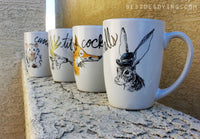 Dirty Dishes-- Fox mug
