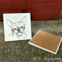 French Bulldog Coaster