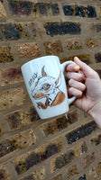 Dirty Dishes Bat Mug