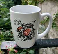 Custom Illustrated Dirty Dishes Mug