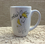Dirty Dishes Rated G-- Horse mug