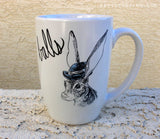 Dirty Dishes-- Hare mug
