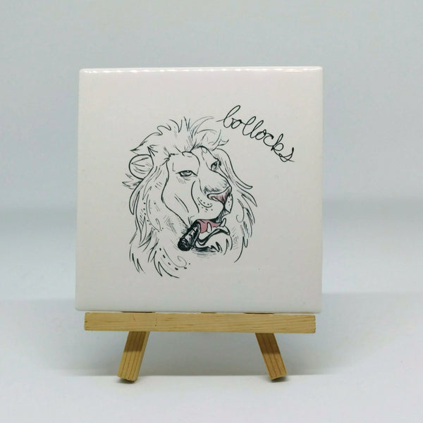 Dirty Dishes Lion Coaster