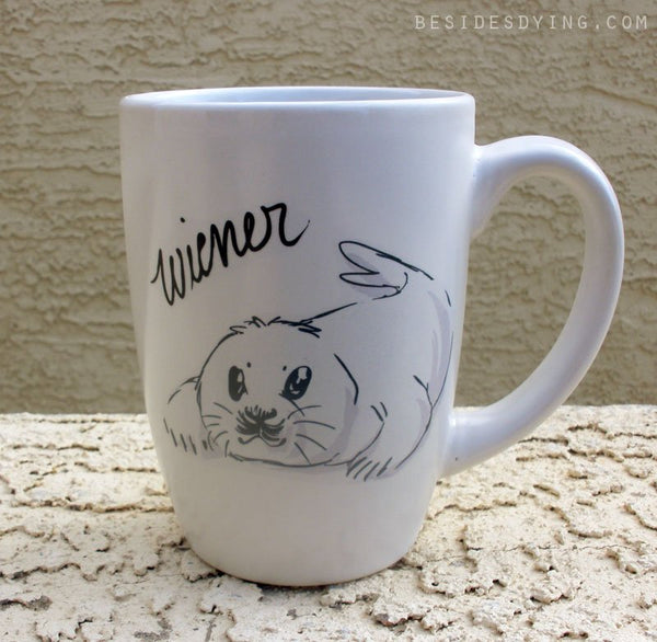 Dirty Dishes Rated G-- Seal mug