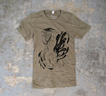 """Ascent"" Unisex Heather Olive T-Shirt"