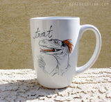 Dirty Dishes Dinosaurs-- Velociraptor Mug