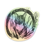 Cat Holographic Sticker