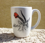 Dirty Dishes Savanna Style-- Gazelle Mug