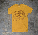 """Share A Life"" Unisex Heather Mustard T-Shirt"