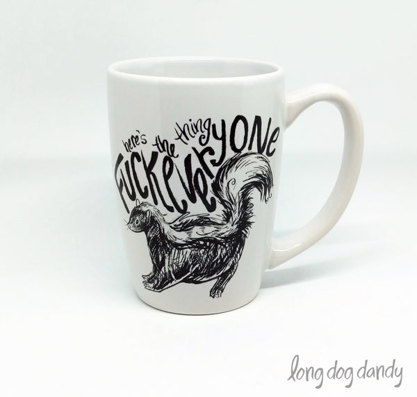 My Favorite Murder Skunk Mug