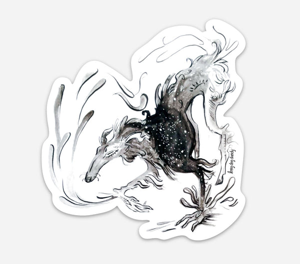 Sighthound Spirit Sticker