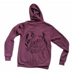 """Movement in Stillness"" Opossum Zip-up Hoodie"