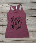 Pronghorn Maroon Tank Top