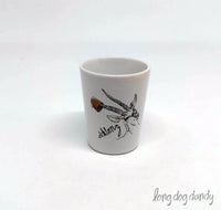 "Dirty Dishes Gazelle ""Schlong"" Shot Glass"