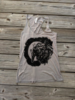Borzoi Grey Tank Top