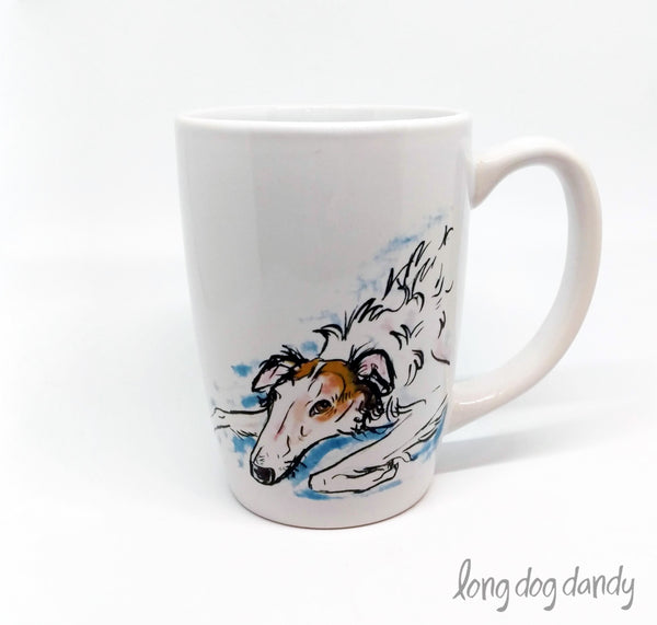 Stanley the Borzoi Mug