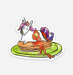 Unicorn Pancakes Sticker