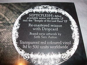 Septic Flesh - Mystic Places Of Dawn (red vinyl)