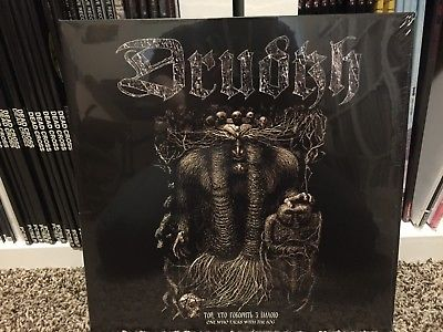 Drudkh / Hades Almighty - One Who Talks With The Fog (black vinyl)