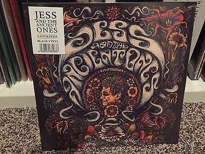 Jess And The Ancient Ones - Castaneda (black vinyl) 10
