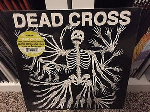 Dead Cross - Dead Cross (gold or red/black swirl vinyl)