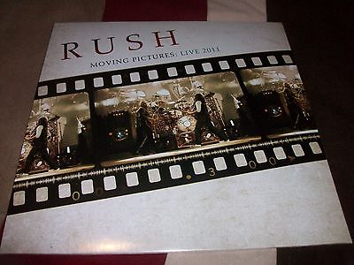 Rush - Moving Pictures Live 2011 (black vinyl)