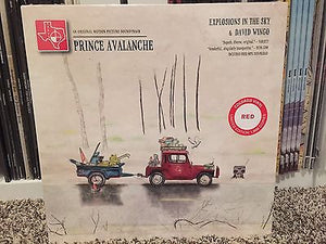 Explosions In The Sky - Prince Avalanche Soundtrack (red vinyl)