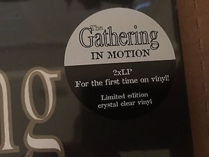 The Gathering - In Motion (clear vinyl)