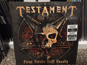 "Testament - First Strike Still Deadly (green vinyl +7"")"