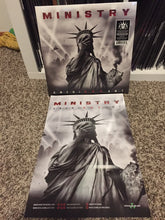 Ministry - Amerikkkant (clear with black splatter vinyl)