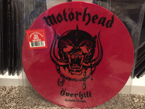 "Motörhead ‎– Overkill / Breaking The Law 12"" (red or white vinyl)"