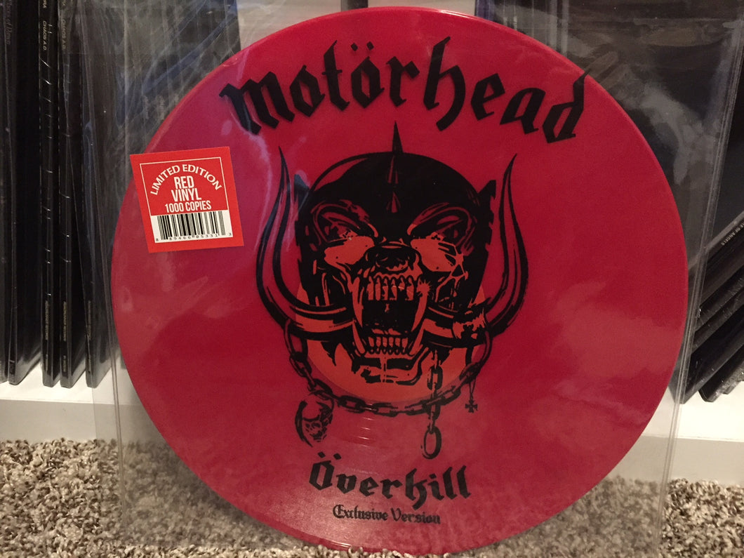 Motörhead ‎– Overkill / Breaking The Law 12