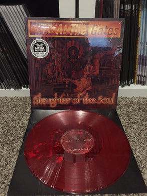 At The Gates - Slaughter Of The Soul (red vinyl)