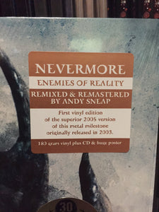 Nevermore ‎– Enemies Of Reality (blue vinyl)