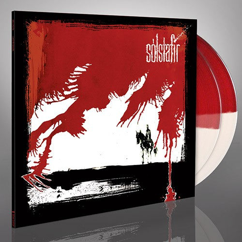 Solstafir -  Svartir Sandar (transparent white/red vinyl)