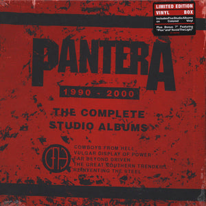 Pantera - The Complete Studio Albums (box set)