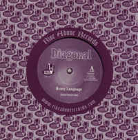 "Diagonal - Heavy Language / Milankovitch Cycles 7"" (black vinyl)"