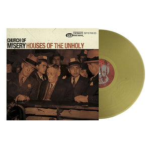 Church Of Misery - Houses of the Unholy (gold sparkle vinyl)