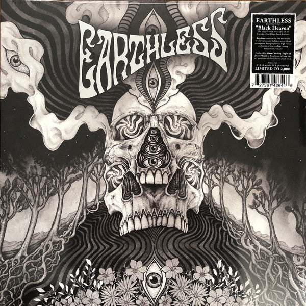 Earthless ‎– Black Heaven (clear with black splatter vinyl)