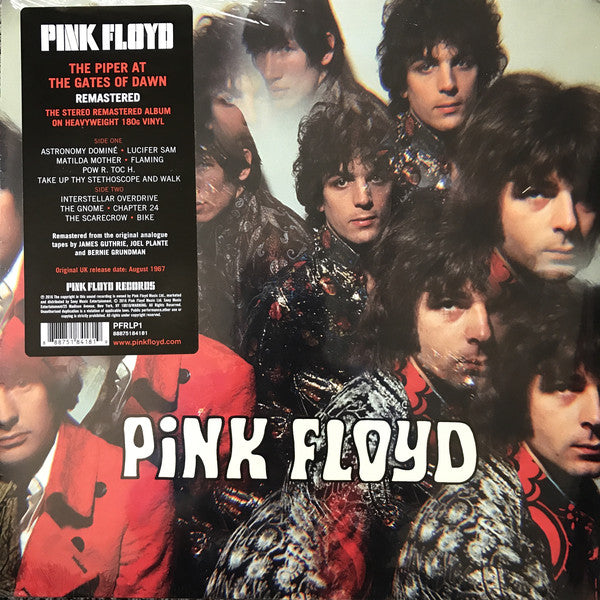 Pink Floyd ‎– The Piper At The Gates Of Dawn (black vinyl)
