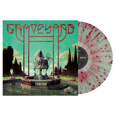 Graveyard - Peace (bottle green or red/white splatter