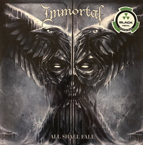 Immortal ‎– All Shall Fall (black vinyl)