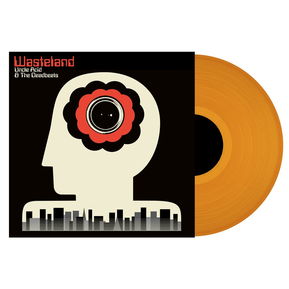 Uncle Acid & The Deadbeats - Wasteland (orange or vanilla vinyl)