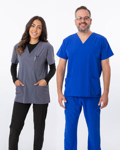 Style 18-1062A Unisex Top by Greentown - Scrub Nation Canada