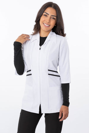 18-1565 Zinnia Chic Full Zip Jacket - Scrub Nation Canada