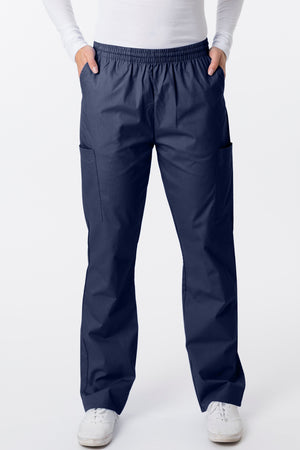 2000 Classix Straight Leg Pull-On Unisex Cargo Scrub Pants By Greentown - Scrub Nation Canada