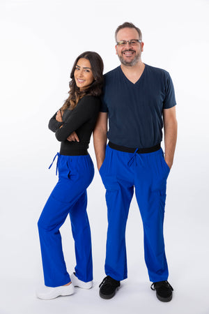 18-1040 Zinnia Unisex Scrub Pant By Greentown - Scrub Nation Canada