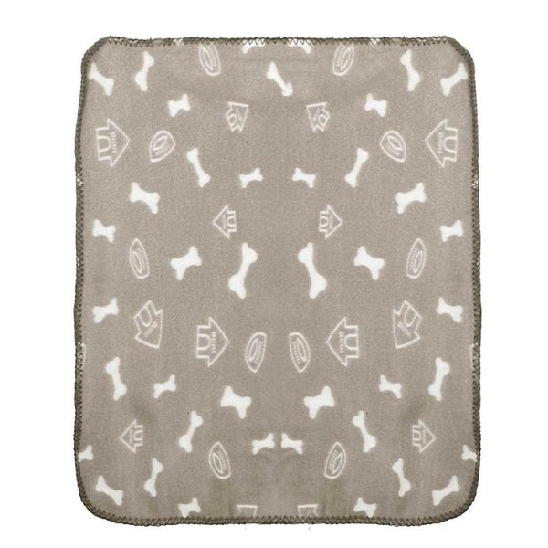Soft and warm fleece blanket for dogs
